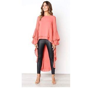 Tops - Daisy asymmetrical blouse